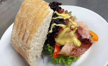 Breakfast or Lunch from Blackboard