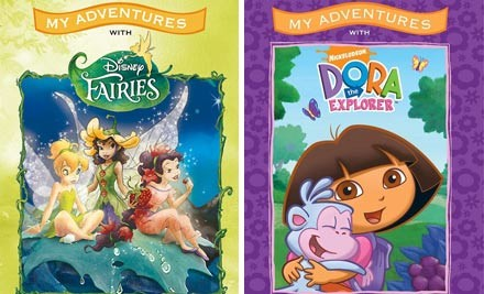 $24 for Two Personalised Large Children's Story Books incl. Nationwide Delivery (value $49.97)