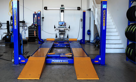 $29 for a Full Four-Wheel Alignment & Six-Point Safety Check or $49 with Nitro Tyre Fill (value up to $125)