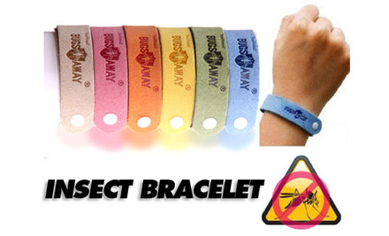 $8 for Six Insect Repellent Bracelets