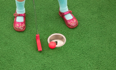 $10 for a Round of Mini Golf for Two (value $20)