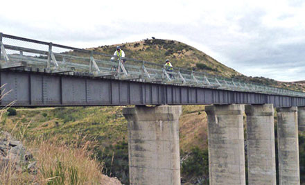 $799 for Five Day/Four Night Otago Rail Trail Cycle Tour (value $1,350)