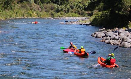 $85 for White Water Kayak Blast Trip down the Tongariro River & Adventure Photo CD Pack (value $174)