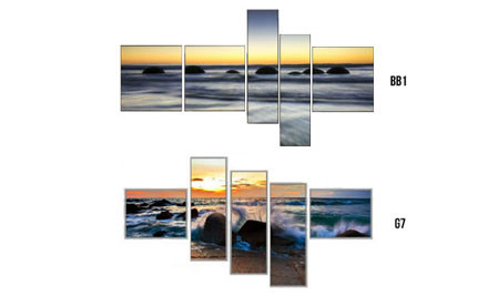 $139 for a High Definition UV Protected Glass Photo Print - Choice of 16 Options incl. Nationwide Delivery