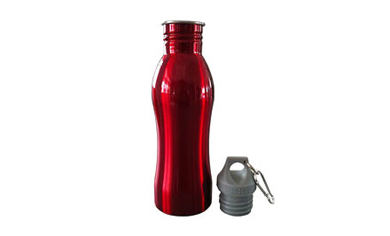 $15 for Two or $20 for Three Red or Silver Steel Drink Bottles incl. Nationwide Delivery