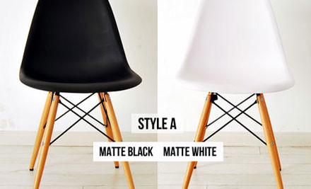 one replica eames dsw side chair grabone