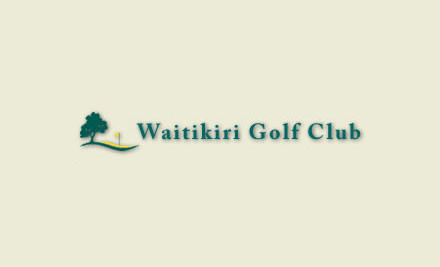 $25 for a Round of Golf (value $50)