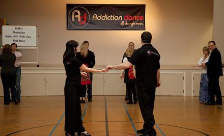 $29 for Five Beginner Ceroc Dance Classes (value $70)