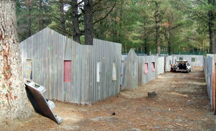 $15 for 1 Basic Game of Paintball incl. 100 Shots, Gun, Overall & Mask Hire from Paintball Central - Cromwell (value $30)
