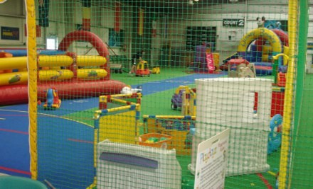 $6 for a Child Entry or $10 for Two Child Entries to the Playland Indoor Playground & One Hot Drink (value up to $18.50)