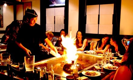 $49 for Complete Teppanyaki Experience for Two (value $98)
