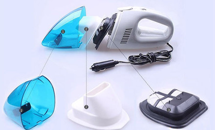 $28 for a Portable Car Vacuum Cleaner incl. Nationwide Delivery