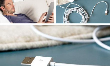 $8 for a Five-Metre iPhone/iPad Cable, $15 for Two Cables, or $20 for Three
