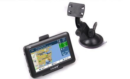"$79 for a GPS with 4.3"" High Resolution Touch Screen & 3D NZ & Australia Maps Pre-Loaded"