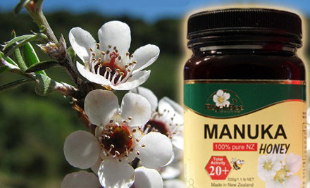 From $26 for 500g of Royal Bee Manuka Honey Total Activity 20+ or 25+ incl. Delivery