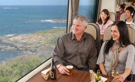 From $645 for an Explorer Escape for Two People Between Wellington & Auckland with Rail Tickets, Car Rental or Flights & Two Nights' Accommodation (value up to $1,468)