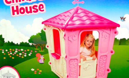$99 for a Princess' Pink Play-Palace