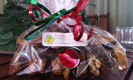 $15 for a Selection of 10 Biscotti, $26 for 20 or $30 for 30