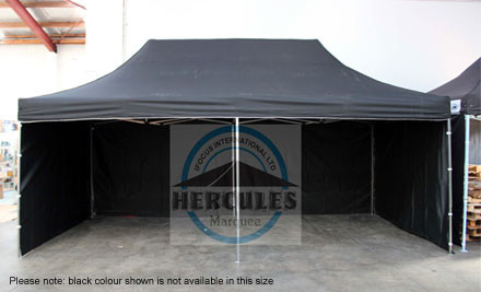 From $310 for a Hercules Gazebo Package incl. Side Walls, Pegs, Guy Ropes, Sand Bags incl. Nationwide Delivery