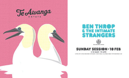 $15 for Entry for One, or $19 for Entry for Two on February 10th 2013 incl. a Bottle of Te Awanga Estate Wine (value up to $34)