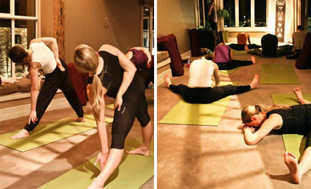 Up to 50% off a Five or 10-Pass Yoga Concession Card (value up to $160)