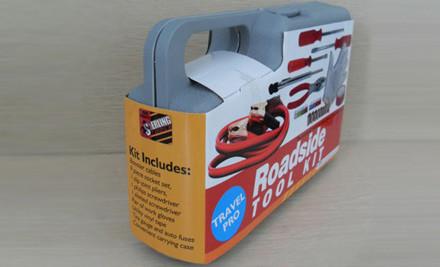 $20 for a 30-Piece Emergency Roadside Tool Kit