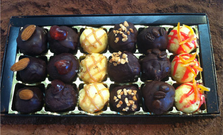 From $15 for Handmade Liqueur Chocolate Truffles for Easter