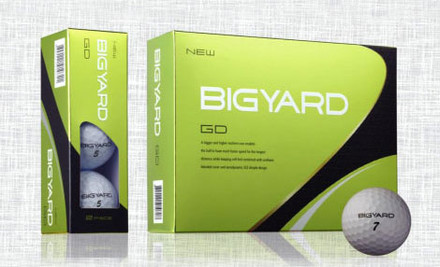 $18.50 for 12 Pro Distance Two Piece Golf Balls or $25 for 12 White or Coloured GD Soft Feel Tour Golf Balls incl. Nationwide Delivery