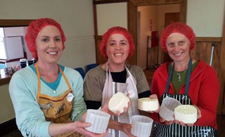 $65 for a Two-Hour Cheese Making Class 10th February or $89 for a Four-Hour Cheese Making Class incl. Take-Home Cheese & Mascarpone Culture - February 9th or 10th (value up to $155)