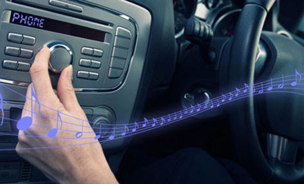 $17 for an iPhone Music to Car Stereo Transmitter (value $49.99)