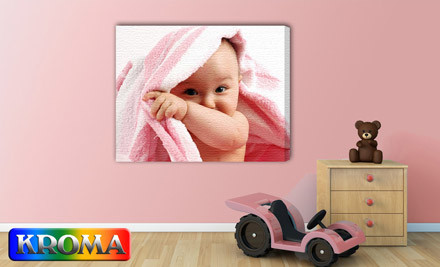 Up to 69% off Large Personalised Canvas Prints incl. Nationwide Delivery (value up to $419)