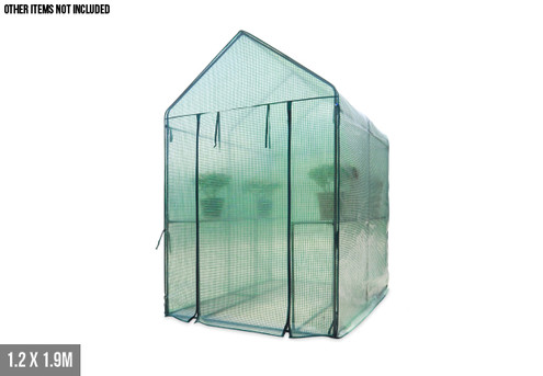 Walk-In Greenhouse - Three Sizes Available