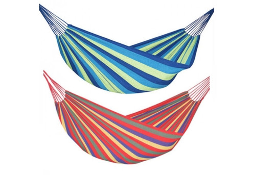 Outdoor Portable Hammock - Two Sizes & Two Colours Available with Free Delivery