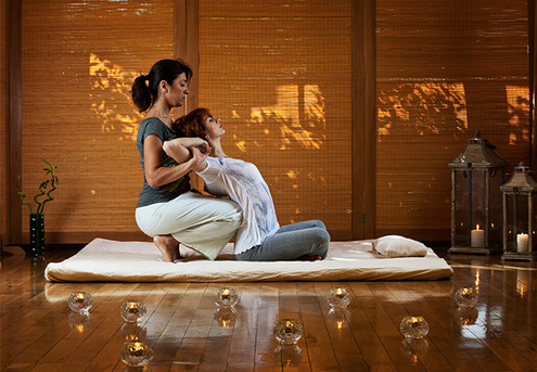 One Hour Shiatsu Body Therapy - Japanese Style Massage for One Person