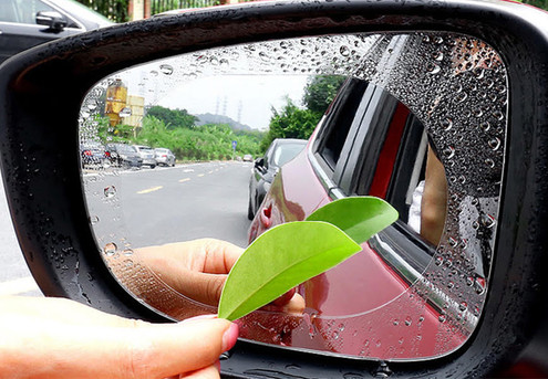 Anti-Fog Water-Resistant for Car Wing Mirror - Option for Two with Free Delivery