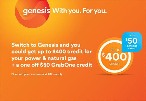 Switch to Genesis & You Could Get up to