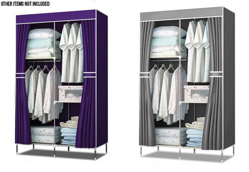 Portable Wardrobe - Two Colours Available