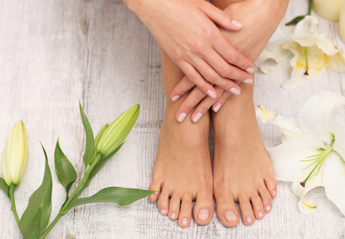 Manicure & Spa Pedicure Combo - Valid Seven Days a Week - St Lukes Location