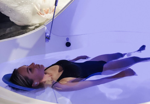 90-Minute High Intensity Salt FLOAT Session - Options for Two People & up to 10 Sessions