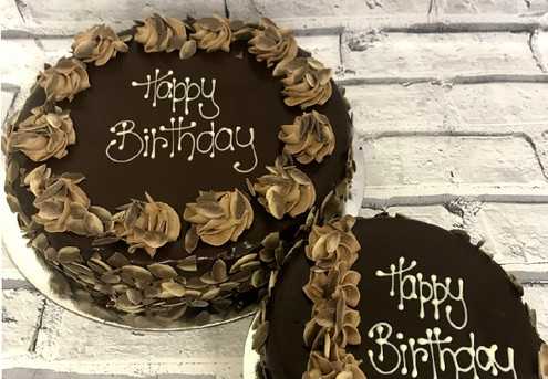 Six-Inch Devils Chocolate Cake - Option for 10-Inch