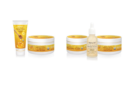 Manuka Moisture Crème & Hand & Nail Crème Pack - Option for Manuka Gift Pack