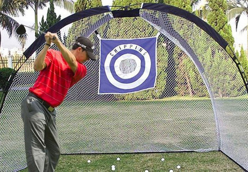 Weather-Resistant Golf Practice Hitting Net with Carry Bag