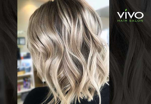 Balayage/Ombre Hair Package incl. Colour, Style Cut, Shampoo Service, Colour-Lock Treatment, Toner, Head Massage & Blow Wave Finish - Options for Enhanced and Deluxe Balayage/Ombres with Root Melts