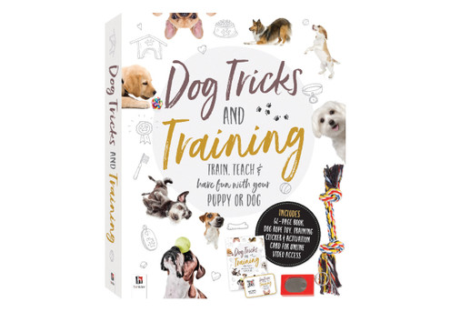 Dog Tricks & Training Box Set with Free Delivery