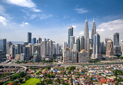 Per-Person, Twin-Share Six-Night Malaysia Package incl. Kuala Lumpur & Penang Island Stay with International & Domestic Flights