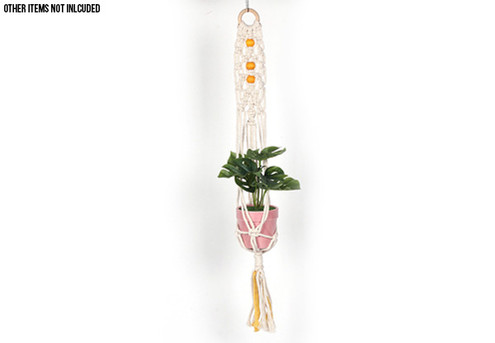 Macrame Plant Hanger - Option for Two with Free Delivery