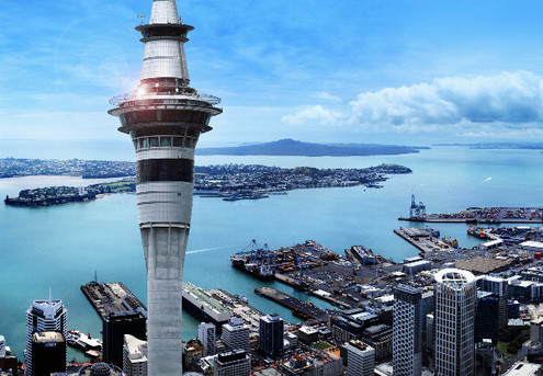 Sky Tower Admission - Options for Two Adults or a Family Pass