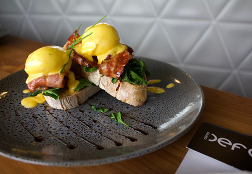 Eggs Benedict Fiesta for One Person - Option for Two People