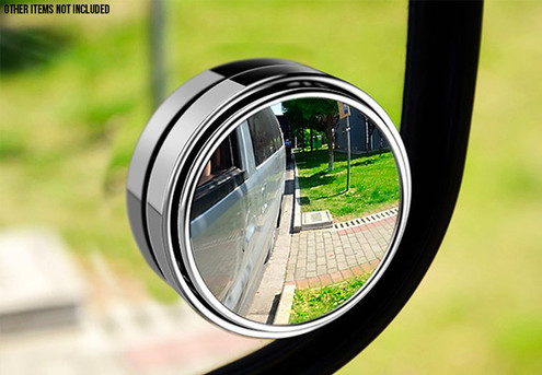 Automobile Rear View Mirror - Option for Two