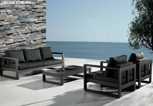 Aluminium Four-Piece Outdoor Sofa Set